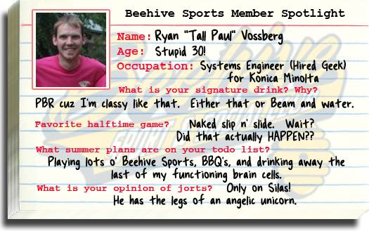Member Spotlight Tall Paul